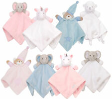 Baby Boys Girls Teddy Unicorn Comforter Blanket Soft Fleece Soother Newborn Gift
