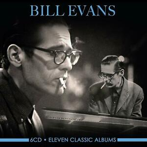 Bill-Evans-ELEVEN-11-CLASSIC-ALBUMS-Portrait-In-Jazz-EVERYBODY-DIGS-New-6-CD