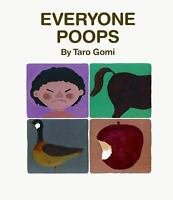 Everyone Poops by Taro Gomi c1995, NEW Hardcover
