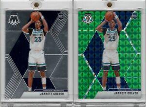 2019-20-Panini-Mosaic-201-Jarrett-Culvert-Green-Prizm-RC-amp-Base-Rookie-Card