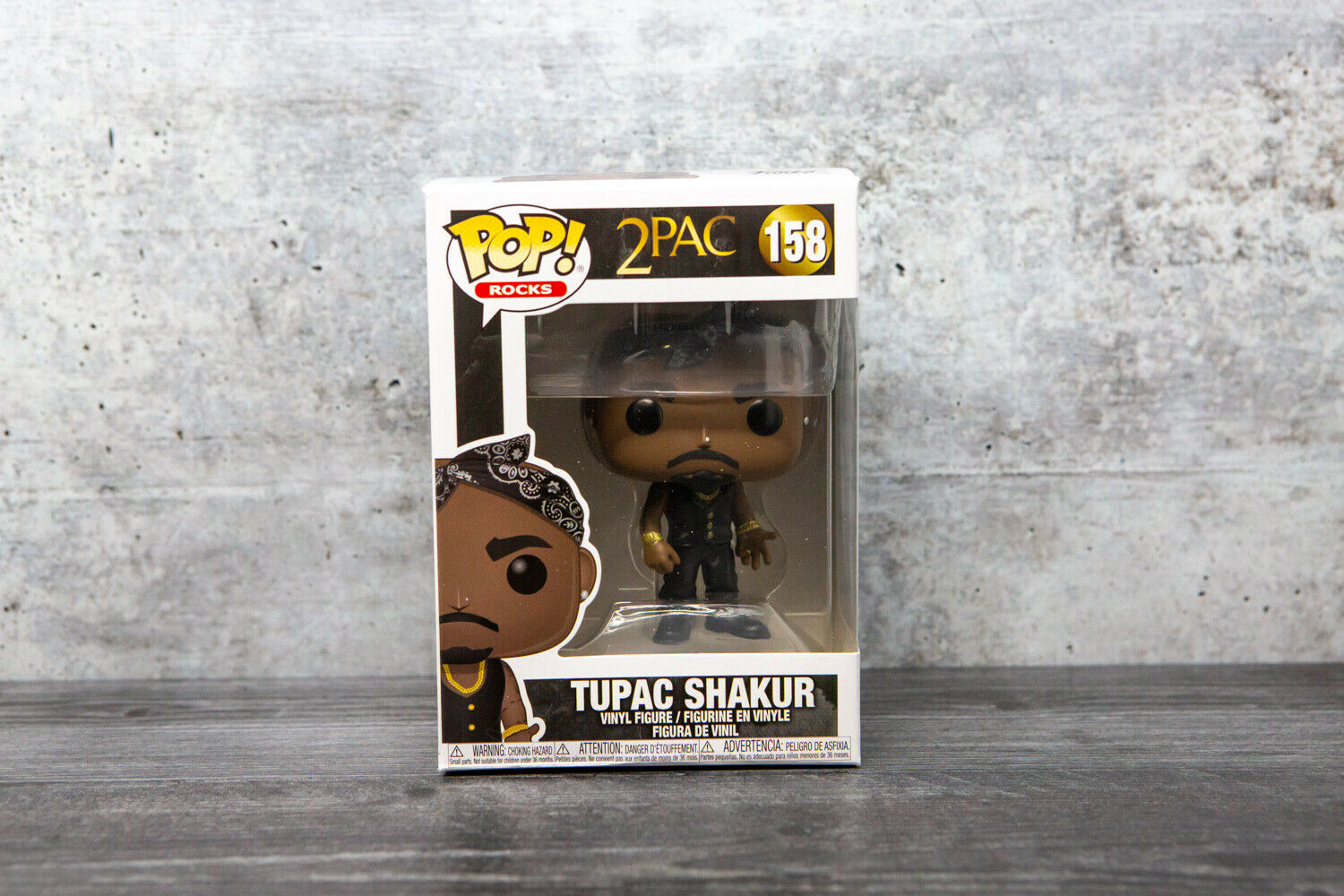 Tupac Shakur #158 Pop Rocks 3.75 Inch Action Figure 2Pac