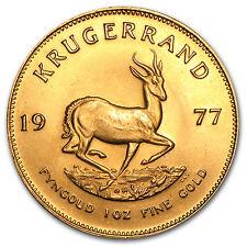 1 oz Gold South African Krugerrand (Abrasions) - SKU #50133
