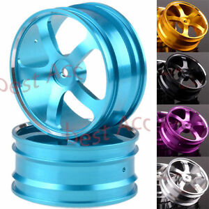 "12mm Hub Metal D=62mm W=29mm 2P 205F Front 2.2"" Wheel Rim RC 1/10 Off-Road Buggy"