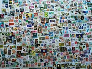 1000-Different-Worldwide-Stamp-Collection