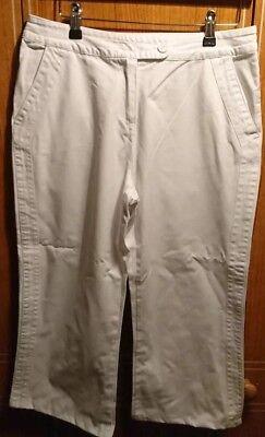 * Nuovo * Donna Per Le Donne Bianco Corto Pantaloni/jeans Taglia 12- Garantire Un Aspetto Simile Al Nuovo In Modo Indefinibile