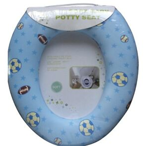 Potty-Baby-Training-Toilet-Seat-Chair-White-Teal-Infant-And-Summer-Loo-Lil