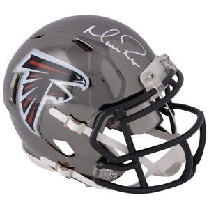 MATT-RYAN-Autographed-Chrome-Atlanta-Falcons-Mini-Helmet-FANATICS