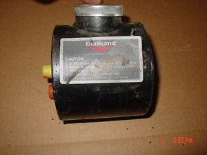 Details about Under hood hydraulic tank belt drive plow pump fluid  reservoir round Fisher