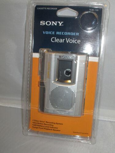 Sony TCM-150 Handheld Cassette Voice Recorder TCM150