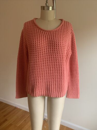 acne studios Knit Sweater Coral Pink Size M