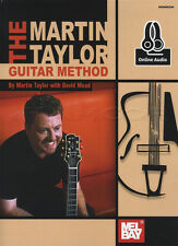 The Martin Taylor Guitar Method TAB Music Book with Audio Access Learn To Play