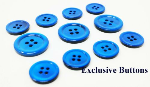 Blazer MOP Ocean Blue Mother Of Pearl Buttons Set or Sportcoat For Suit