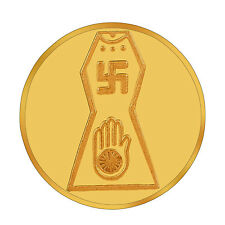 RSBL eCoins Jain Swastik 1 gm Gold Coin 24kt purity 995 Fineness