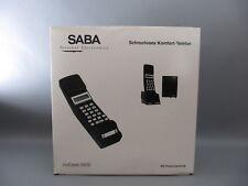 Rarität SABA saCom180 schnurloses Telefon aus den 90er Jahren in OVP