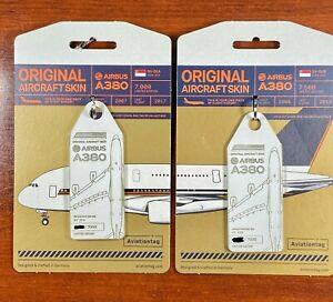 Aviationtag-Airbus-A380-Singapore-9V-SKA-amp-9V-SKB-MSN003-amp-MSN005-SOLD-OUT-LE