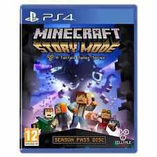 PlayStation 4 Minecraft: modalità storia PS4-UNA SPIA Gioco Eccellente - 1st Class