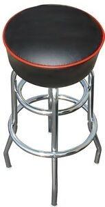 Black-Bar-Stool-Stools-Counter-Top-Chair-Seat-Rec-Room-Kitchen-Awesome-NIB