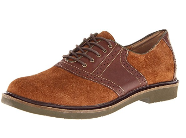 Fossil Springfield Oxford Mahogany Suede with Pelle Finish size US 7-13