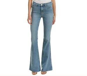 Hudson-Womens-High-Rise-Tom-Cat-Flare-Quarrel-Bell-Bottom-Jeans-Size-30-x-32