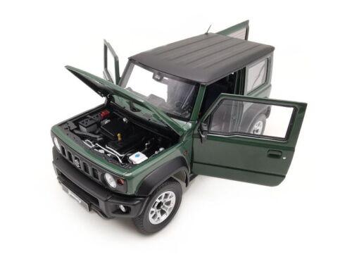 Suzuki Jimny Sierra Dark Green 2018 1:64 Model LCD64004J-DG LCD MODELS