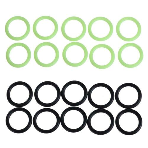10pcs G1//4 Silicon Rubber Sealing Ring 2 Point Connector O Ring Washer Seal #S5