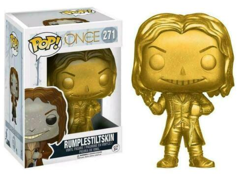 Vynil Rumplestiltskin Gold 271 Once upon a time Funko POP New !