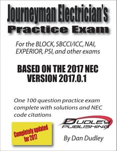 Image Is Loading Journeyman Electrician Practice Exam Based On 2017 NEC