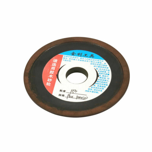 "4/"" Diamond Bakelite Grinding Wheel Disc Carbide for Cutter Sawtooth 4//5/"" Bore"