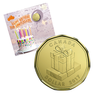 """2018 Holiday Gift Set with Special Holiday """"Loonie"""" in This Set Only!"""