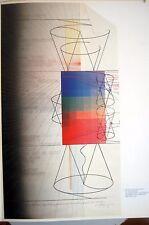 ARAKAWA- Diseño publicado en Derriere le miroir Nº 252 - 28 X 38 CM