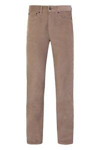 Ex-M-amp-S-Men-039-s-Corduroy-Cords-Straight-Cotton-Trousers-Pants-Reg-Fit-Marks-Spencer