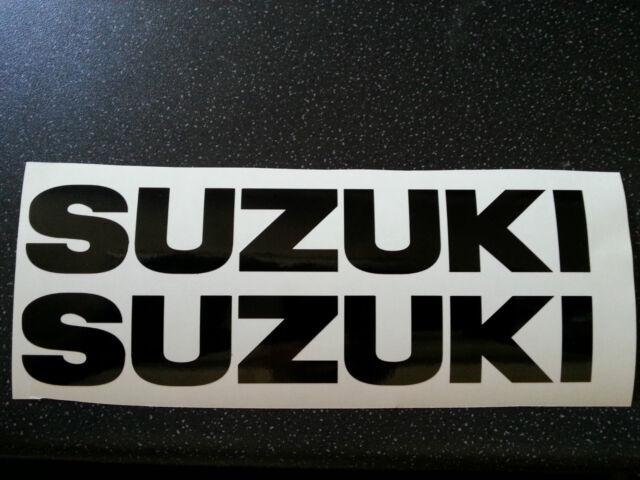 Suzuki tank bike decal stickers without logo free post uk free many colours