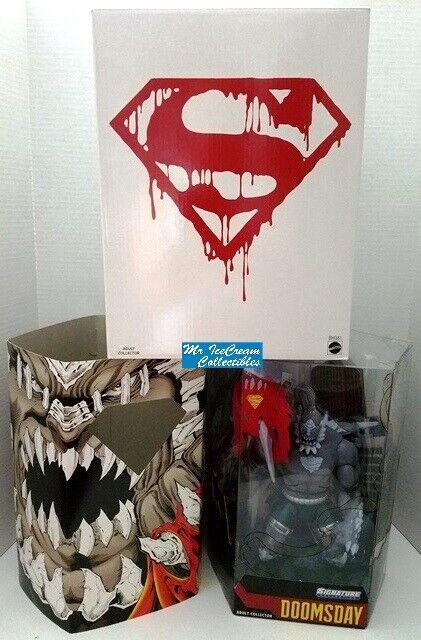 DC clásicos universo Signature Collection Doomsday Unleashed DCUC