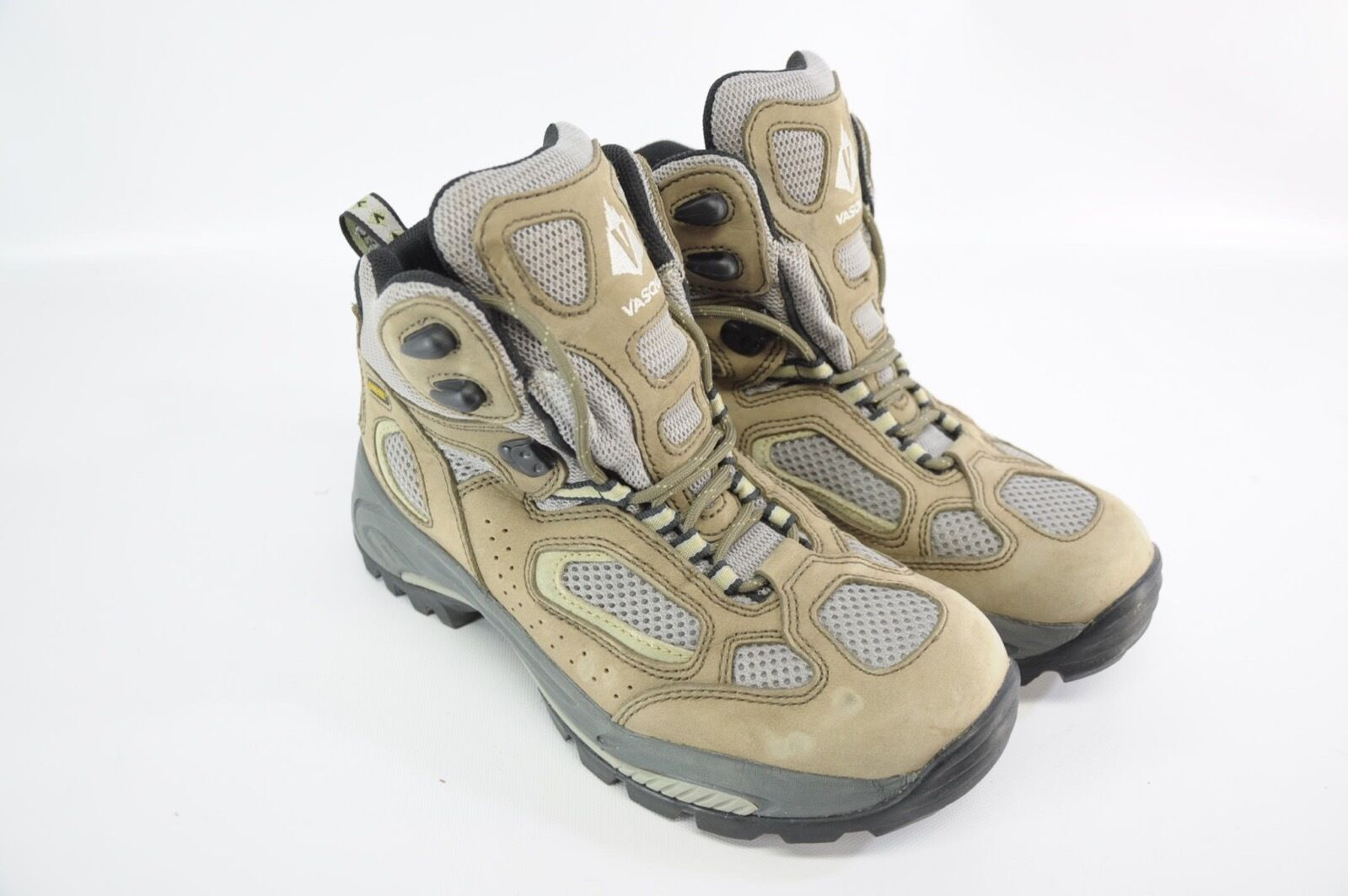 Vasque Breeze Mid GTX Gore Tex Waterproof Braun 9.5 Leder Vented Hiking Stiefel 9.5 Braun fa0f04