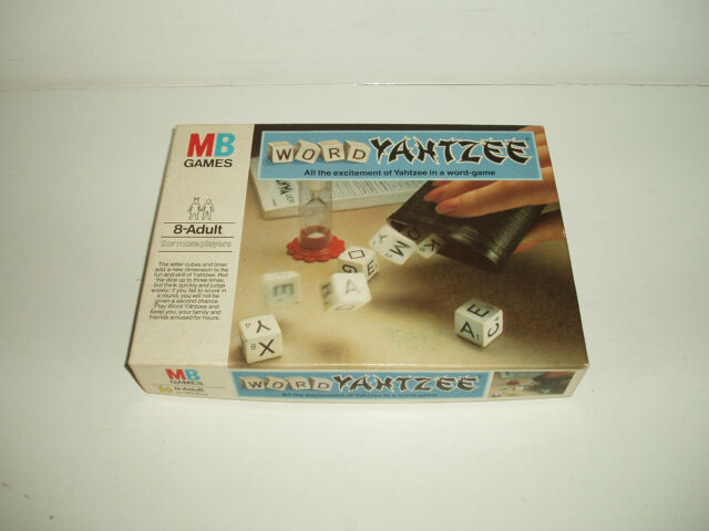 """Vintage """"Yahtzee"""" by MB games 1979."""