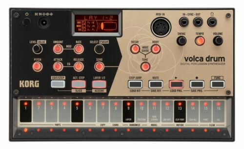 Korg Volca Drum Digital Percussion Synthesizer Sequenzer Rhythm Machine Synth