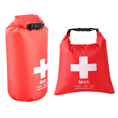 2L Waterproof Emergency First Aid Kit Bag Travel Dry Bag Rafting Camping