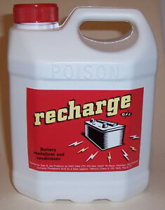 RECHARGE-Battery-Additive-Conditioner-2-Litre-as-much-as-Double-Battery-Life