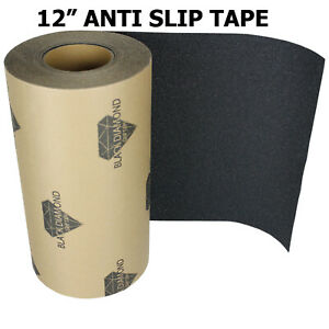 12-034-x-10-039-BLACK-Roll-Safety-Non-Skid-Tape-Anti-Slip-Tape-Sticker-Grip-Safe-Grit