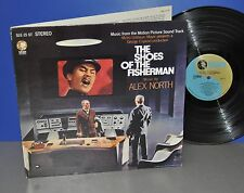 The Shoes of the Fisherman OST USA 68 MGM 1st press VG++/M- FOC Vinyl LP cleaned