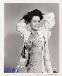 Details about Susan Cabot busty sexy VINTAGE Photo Flame OIf Araby