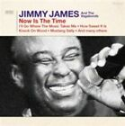 Now Is The Time 5036436091126 by Jimmy James CD With DVD