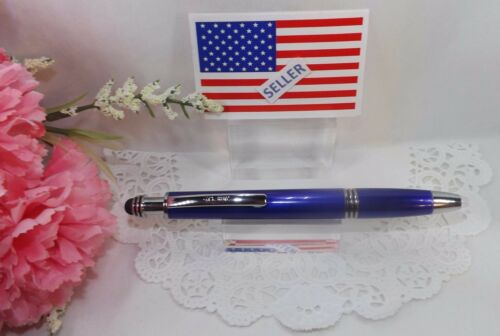 HIGH QUALITY 3 in 1 Corolla LED Lighted Tip Blue Stylus Pen by Adler