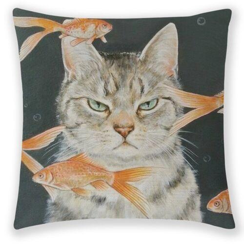 US Cute Cat Dog Animal Print Pillow Case Throw Cushion Cover Sofa Bed Home Decor