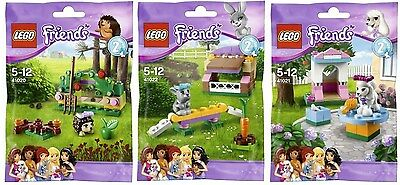LEGO Friends : Series 2 Complete Set - - New /& Sealed 41020, 41021, 41022