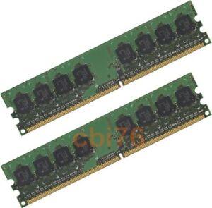LOT-de-2-barrettes-memoire-de-1GO-GB-soit-2GO-DDR2-PC2-5300-667MHZ-240PIN-1FACE