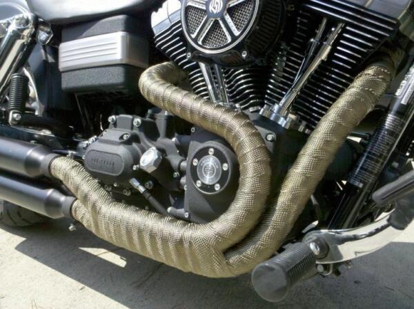 Bende Fasce Marmitte Nastro Termico Harley Davidson Sportster Iron Forty Eight Laat Onze Grondstoffen Naar De Wereld Gaan