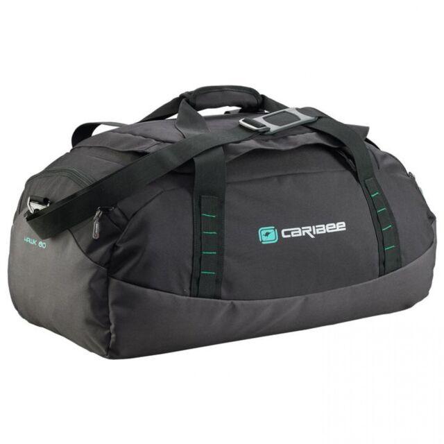 NEW Caribee Hawk 60Cm Gear Bag Black - Travel Gym Duffle Bags - Duffel Bags 9e99c55bc8f