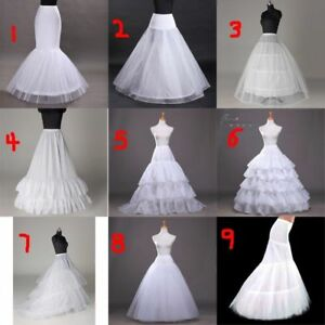 Image Is Loading Bridal Hoop Petticoat Crinoline Underskirt Wedding Prom Dress