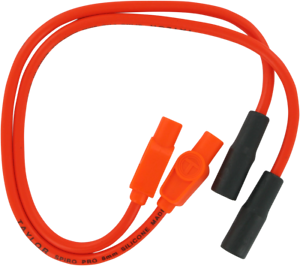 Sumax Custom Colored Red 8mm Plug Wires 20233